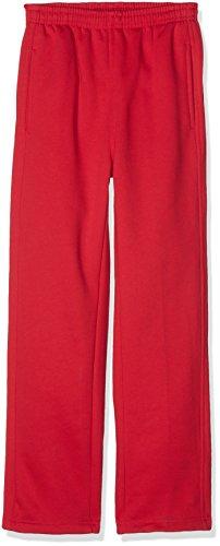 urban kids Jungen Kids Sweatpants Sporthose, Rot (Red 199), 164 (Herstellergröße: 14)