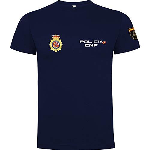 Piel Cabrera Camiseta Niño Policia Nacional España. CNP (9/10 años)