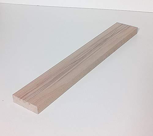 1 Stück 23mm starke Holzleisten Kanthölzer Bretter Kernbuche massiv. 100mm breit. Sondermaße (23x100x150mm lang.)