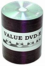 Taiyo Yuden 4.7 GB 16x Thermal printable silver DVD-R (value line), 100 pack