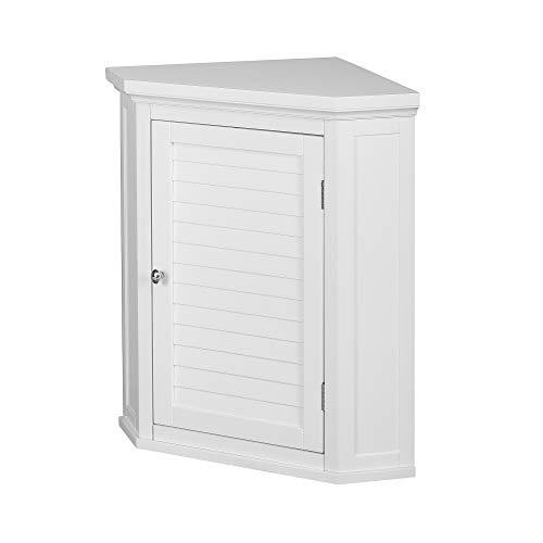 Versanora ELG-587 Badezimmer-Wandschrank, MDF, Weiß, 57.15 x 38.10 x 60.96 cm