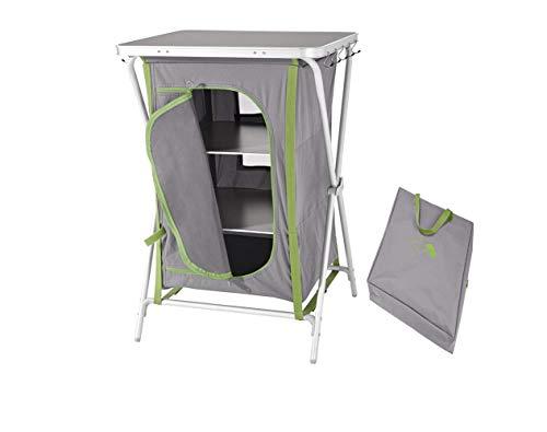 Camping Tisch Klapptisch Falttisch klappbar Klapptisch Campingtisch Gartentisch Angel Tisch Maße: ca. B 60 x H 88 x T 51 cm