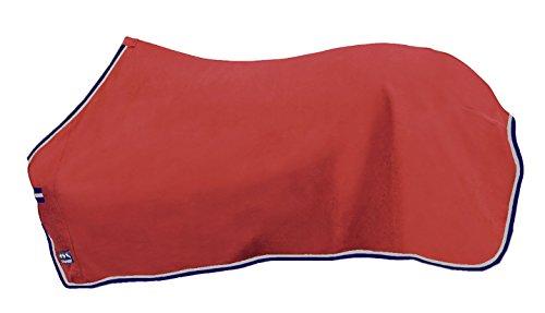 HKM Sports Equipment GmbH Unisex Coperta per Madrid Cavalli Caratteristiche, Unisex, Abschwitzdecke -Madrid-, Rot