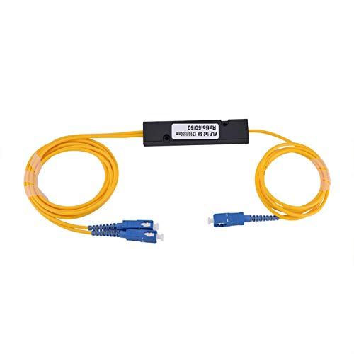Cable Divisor de Fibra óptica con Divisor óptico de diseño Compacto para PC en casa Works Office