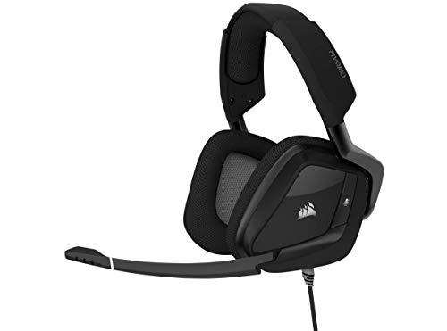 Corsair Void RGB Elite USB Premium Gaming Headset with 7.1 Surround Sound, Carbon (Renewed)