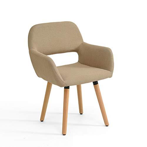 LJZslhei Stuhl Massivholz Stuhl Einfache Moderne Computer Stuhl Kreative Zurück Schreibtisch Stuhl Freizeit Stuhl Esszimmer Stuhl Kamel