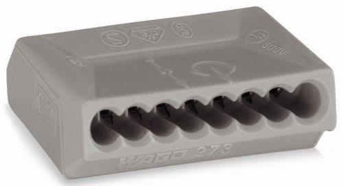 Wago 273-10850Stück Dosenklemmen, 8Wege, Querschnitt 1,5mm²