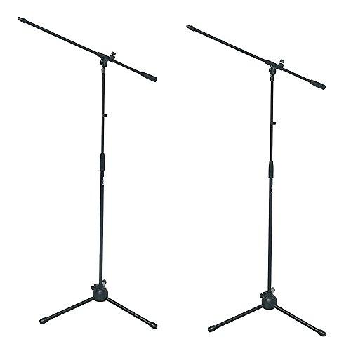 PROEL RSM180 - Coppia Di Aste Giraffa Per Microfono Base Tripoide Con Snodo Nylon