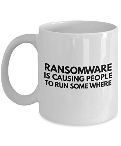 N / A Ransomware - Tasse à café et Tasse à thé Amusantes