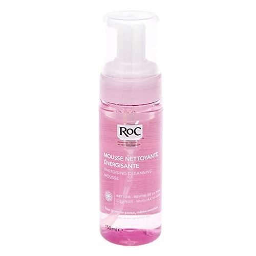 RoC - Mousse nettoyante énergisante - Peau propre et lisse - pour tous les types de peau - Revigore la peau - 150 ml
