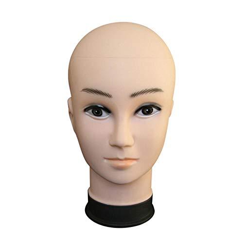 Tête de mannequin, PVC femmes et hommes type perruque modèle tête pour l'affichage des perruques chapeaux foulard VR lunettes