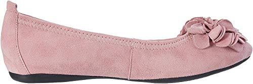 HIRSCHKOGEL Damen 0097407 Geschlossene Ballerinas, Pink (Rosa 022), 35 EU