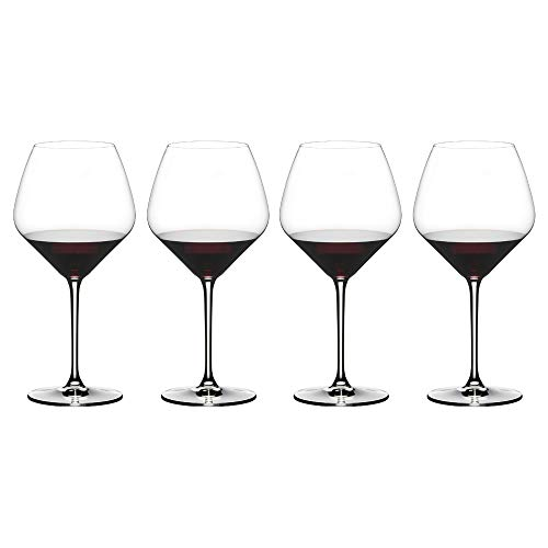 Riedel 4411/07 Extreme Pinot Noir Wine Glass, Set of 4, Clear