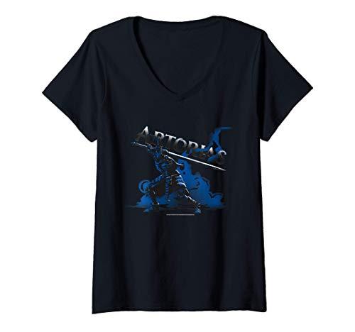 Mujer DARK SOULS Camiseta Cuello V