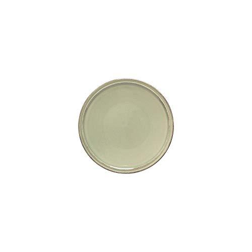 Costa Nova Friso Collection Stoneware Ceramic Bread Plate 7', Sage Green