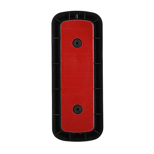 Timbre de Video, Conveniente para Usar el intercomunicador de Video WiFi de bajo Consumo de energía con Lente Gran Angular para la Seguridad de la Oficina para la Seguridad del hogar(Black)
