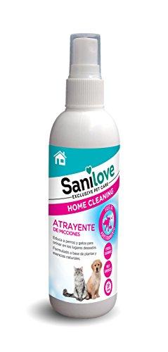 Sanicat SANILOVE Atrayente de Urinas y Micciones para Mascotas - 125ML 🔥