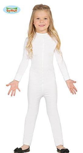 Disfraz de Maillot infantil blanco 9-12 años super-elástico