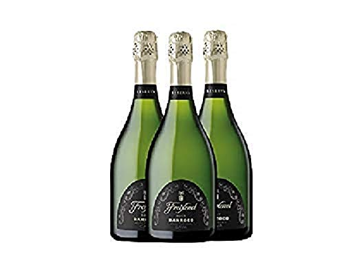 Freixenet - Brut Barroco - 75 cl - Pack de 3 botellas - 2250 ml