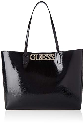 Guess Damen Uptown Chic Tote, Schwarz (Black), 12.5x29x42 centimeters