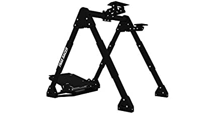 UPGRADED Trak Racer FS3 MACH 2 Compact Racing Simulator Wheel Stand with Gear Shift Mount Pedal Mount