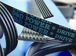 D&D PowerDrive 135J7 Poly V Belt, 7 Band, Rubber