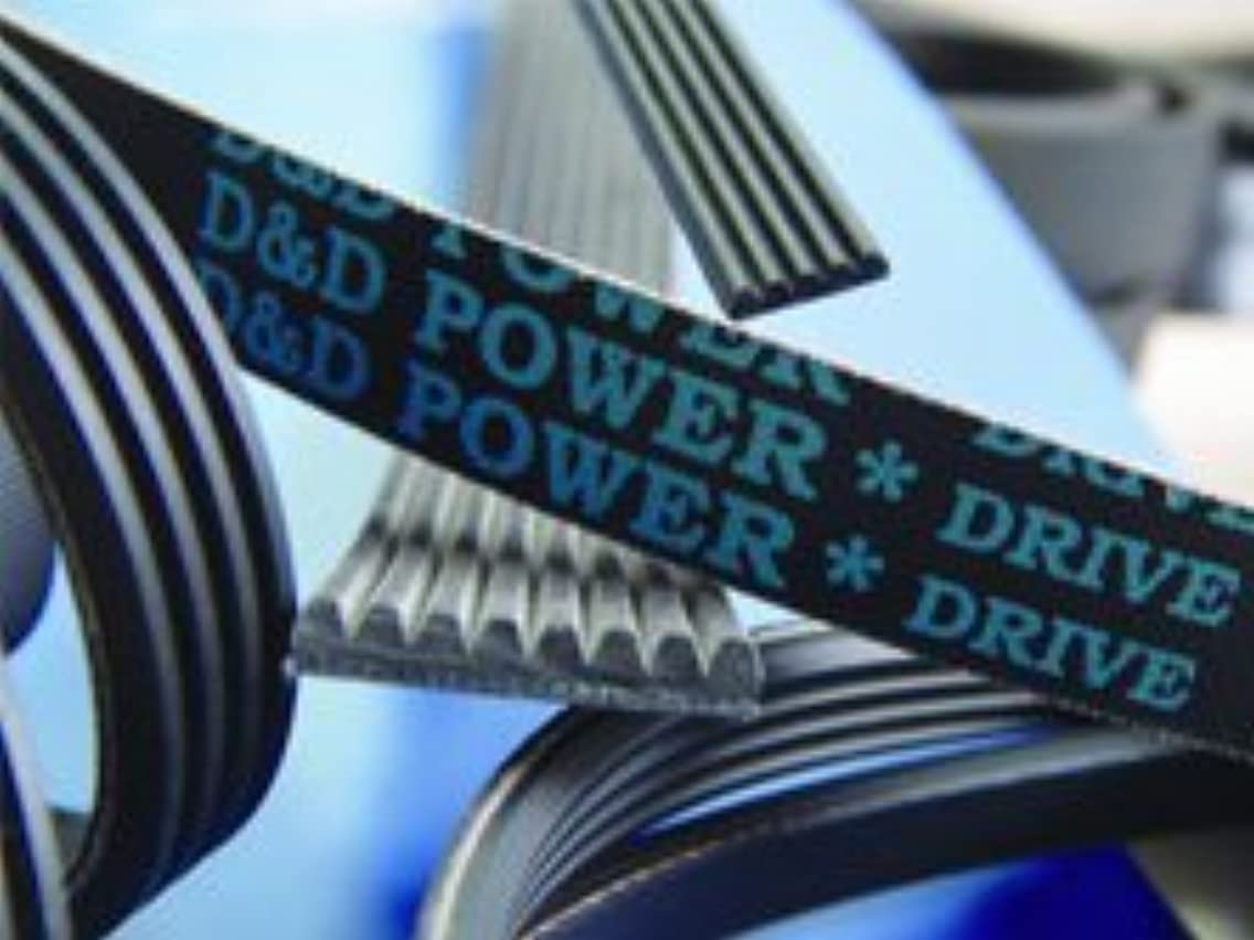 D&D PowerDrive 16PM2388 Metric Standard Replacement Belt, 16 Bands, Rubber