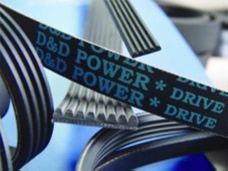 D&D PowerDrive 6PK2395 Metric Standard Replacement Belt, 94.95