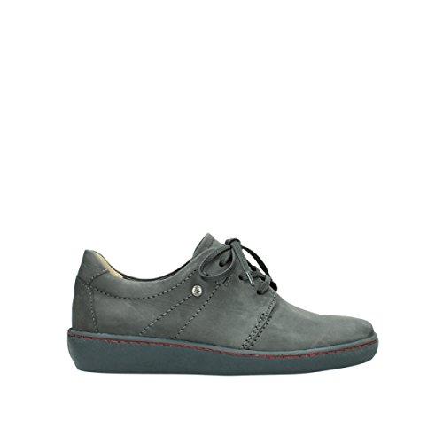Wolky Damen Halbschuh/Schnürer Grey (Grau) 8125520