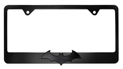 Elektroplate Batman Black Bat Black License Plate Frame