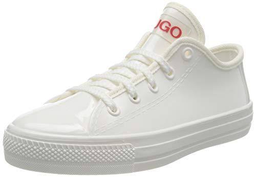 HUGO Damen Gamma LowCut-TR Sneaker, Weiß (White100), 40 EU