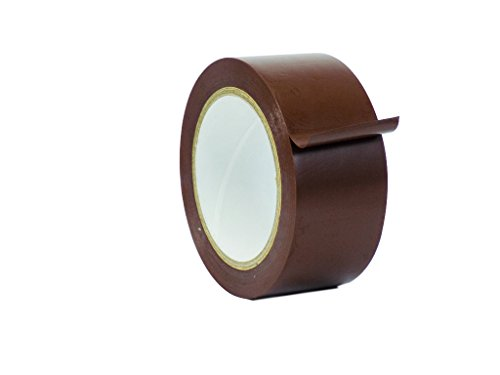 WOD VTC365 Brown Vinyl Pinstriping Tape, 2 inch x 36 yds. (Pack of 1) For School Gym Marking Floor, Crafting, Stripping Arcade1Up, Vehicles and More (Available in Multiple Sizes & Colors)