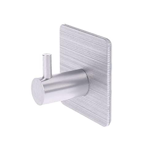 DEORBOB Gancho De Aluminio Multifunción Colgador De Acero Inoxidable Pothook Autoadhesivo Soporte De Almacenamiento En La Pared para El Hogar Soporte para Baño Accesorios De Cocina