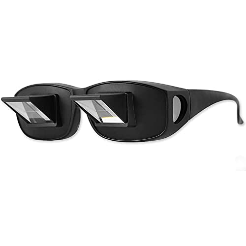 Lazy Bed Prism Reading Glasses, Glasses Horizontal Glasses Spectacles...