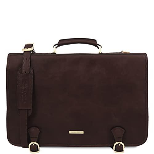 Tuscany Leather Ancona - Cartella in pelle - TL142073 (TESTA DI MORO)