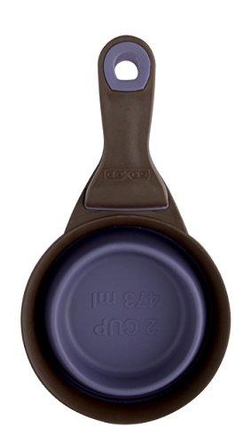 Dexas - Klipscoop, gobelet doseur de croquettes rétractable