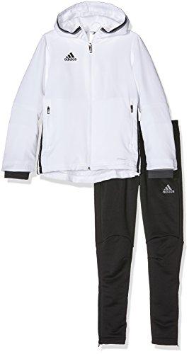 adidas Kinder Sportanzug Präsentationsanzug Condivo 16, White/Black, 128, S93526