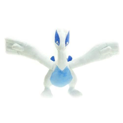 DMCMX Pokémon Stofftier Lugia Figur Puppe 30cm Nacht Computer Case Dekoration Anime Game Character Modell statischen Charakter Desktop-Dekoration Exquisite Souvenirs