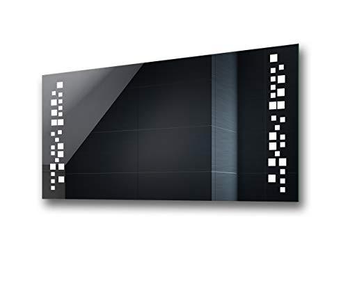 Freddo Bianco L15 con Interruttore e Accessori Caldo FORAM Personalizza Controluce LED Specchio su Misura