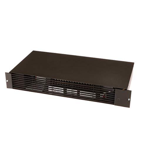 TPI TSH20J Series TSH Fan Forced Kick Space Specialty Heater, Standard, Black