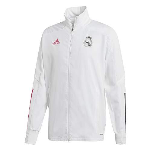 adidas Real Pre Jkt Giacca Sportiva, Uomo, White, XL