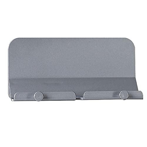 Yunnan Soporte para teléfono de baño con gancho de carga para montaje en pared Soporte para llaves de montaje en pared