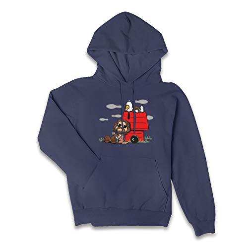 The Big Lebowski Women's Hooded Sweater,Women's Cotton Sleeve Hooded Sweater,Hoodies For Women's