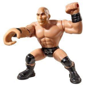 WWE – Power Slammers – The Rock – Figurine Action Motorisée 12 cm