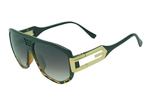 Gafas de sol CZ4 con diseño de esquila, color marrón