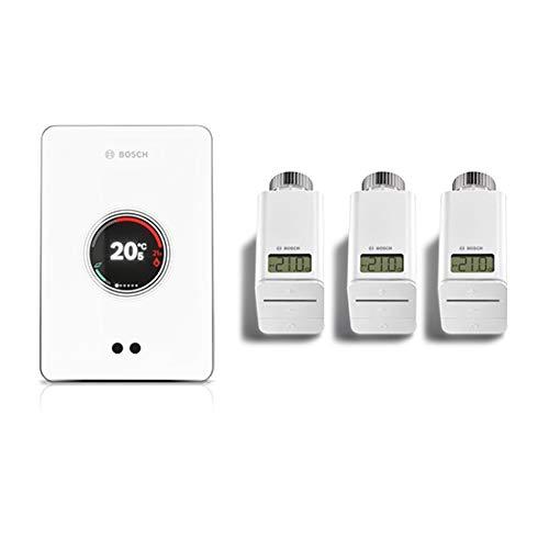 Bosch Termotecnica bianco Bosch termostato smart EasyControl SET CT 200, 3 Valvole Incl