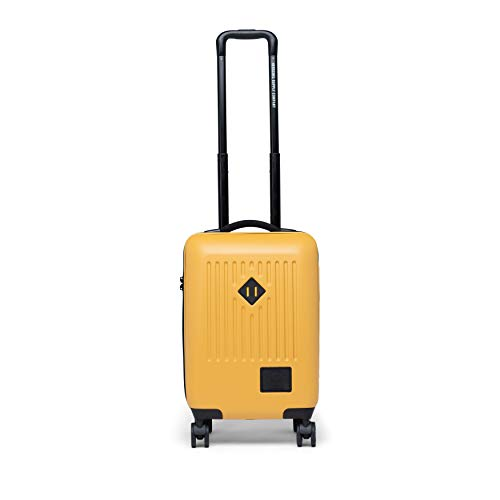 Herschel Trade Hardside Spinner Small Carry-on Luggage, nugget Gold, 21.7-Inch Carry-On