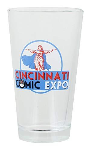 Toynk Cincinnati Comic Expo Logo 16oz Pint Glass