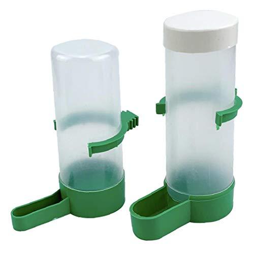 Vogel-Wassertränke Automatischer Brunnen Tränke Haustier Futterspender Haltbarer Praktischer Kunststoff für Vögel Papageien Käfig Zubehör Haustier Zubehör