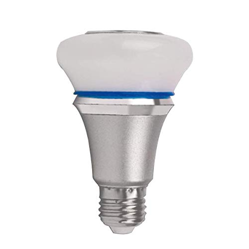 BXU-BG LED Smart Bulb Light Inalámbrico Color Cambiante Bluetooth Bombilla Lámpara Colorida Música Bombilla (Blanco)